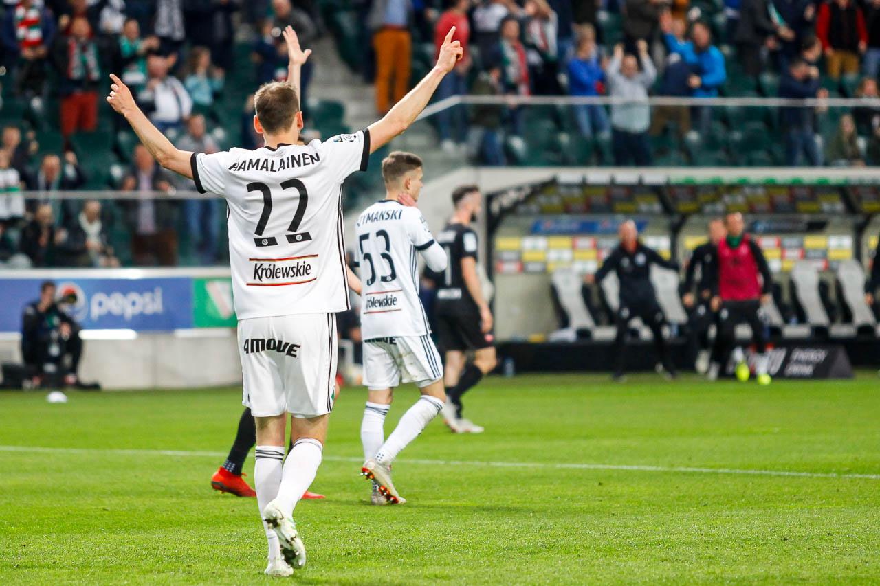 Legia Warszawa 1-0 Cracovia - fot. Piotr Galas (zdjęcie 47 z 89)