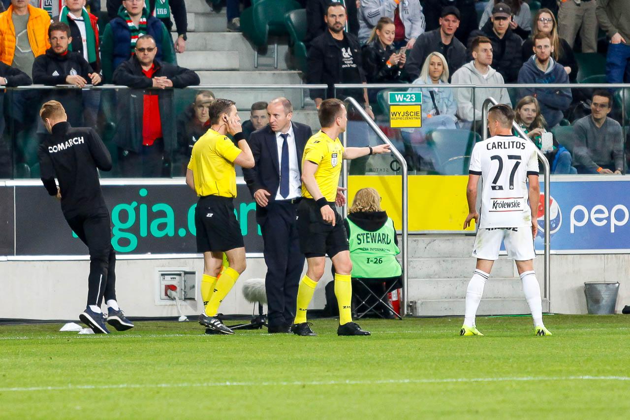Legia Warszawa 1-0 Cracovia - fot. Piotr Galas (zdjęcie 50 z 89)