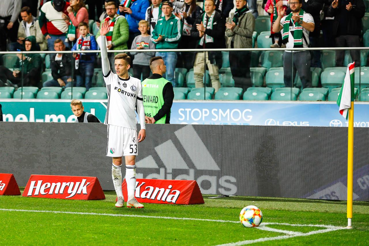 Legia Warszawa 1-0 Cracovia - fot. Piotr Galas (zdjęcie 52 z 89)