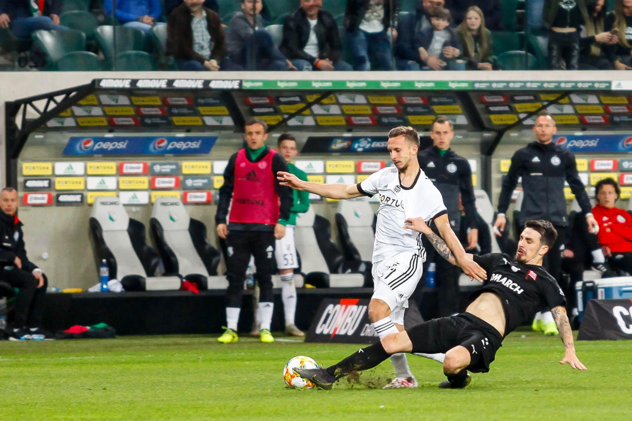 Legia Warszawa 1-0 Cracovia - fot. Piotr Galas (zdjęcie 60 z 89)