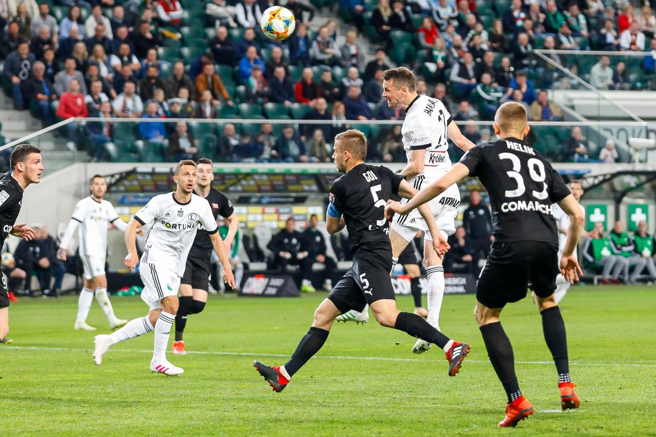 Legia Warszawa 1-0 Cracovia - fot. Piotr Galas (zdjęcie 63 z 89)