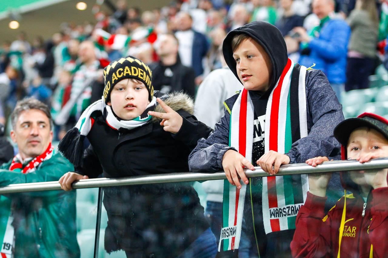 Legia Warszawa 1-0 Cracovia - fot. Piotr Galas (zdjęcie 77 z 89)