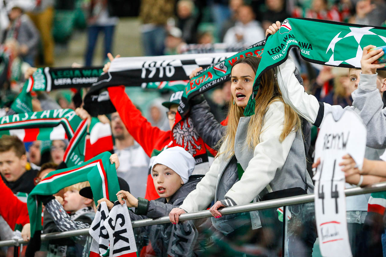 Legia Warszawa 1-0 Cracovia - fot. Piotr Galas (zdjęcie 79 z 89)