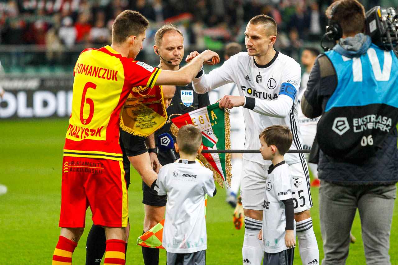Legia Warszawa 3-0 Jagiellonia Białystok - fot. Piotr Galas (zdjęcie 12 z 87)
