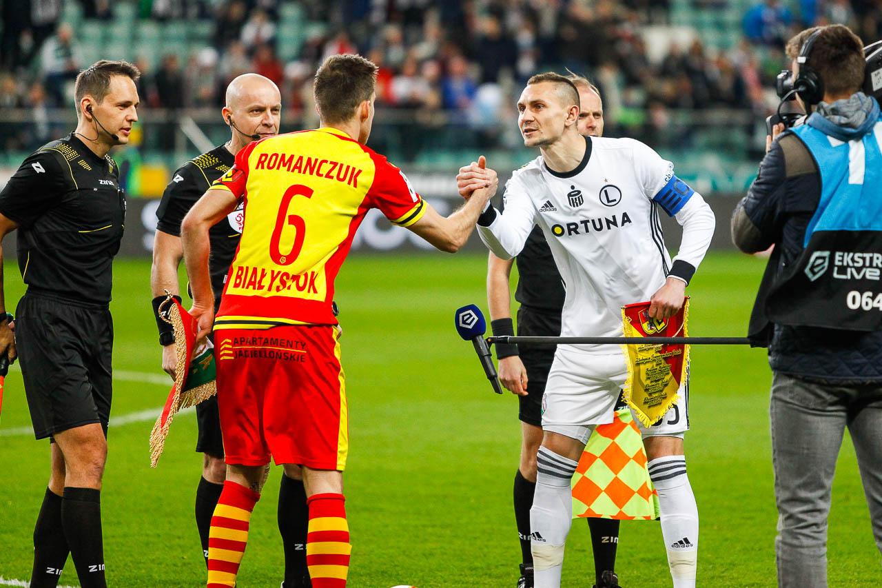 Legia Warszawa 3-0 Jagiellonia Białystok - fot. Piotr Galas (zdjęcie 13 z 87)