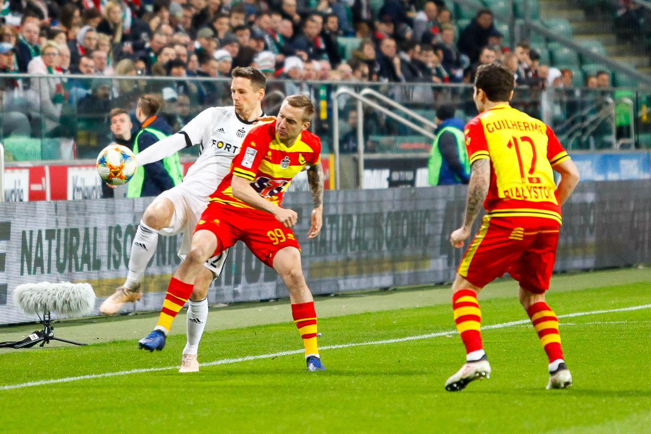 Legia Warszawa 3-0 Jagiellonia Białystok - fot. Piotr Galas (zdjęcie 17 z 87)