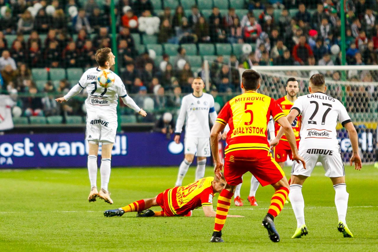 Legia Warszawa 3-0 Jagiellonia Białystok - fot. Piotr Galas (zdjęcie 18 z 87)