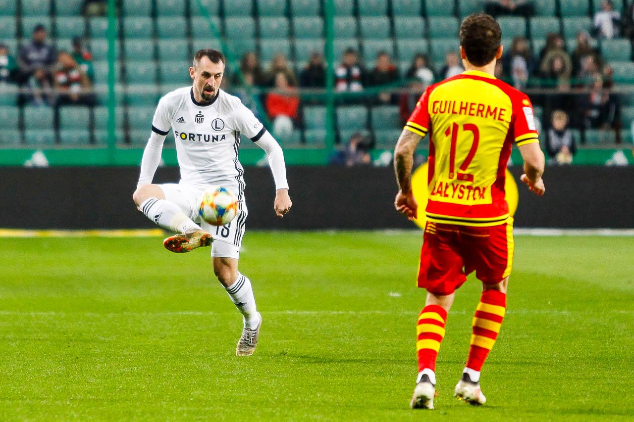 Legia Warszawa 3-0 Jagiellonia Białystok - fot. Piotr Galas (zdjęcie 19 z 87)