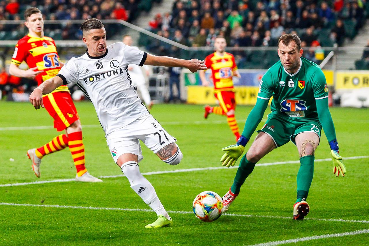 Legia Warszawa 3-0 Jagiellonia Białystok - fot. Piotr Galas (zdjęcie 31 z 87)