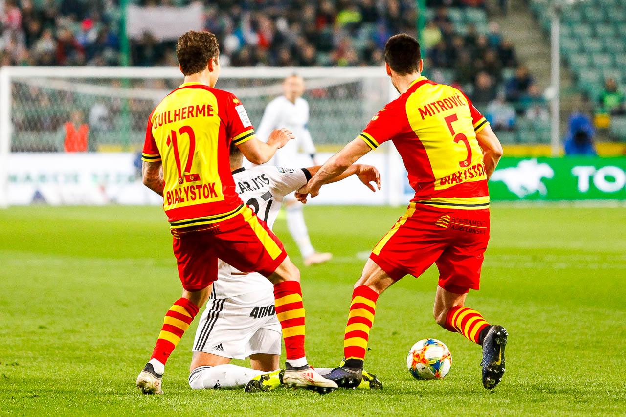 Legia Warszawa 3-0 Jagiellonia Białystok - fot. Piotr Galas (zdjęcie 34 z 87)