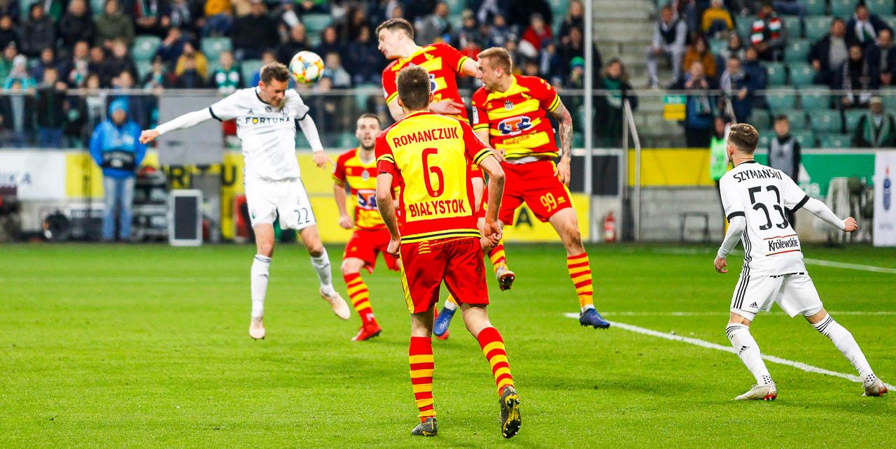 Legia Warszawa 3-0 Jagiellonia Białystok - fot. Piotr Galas (zdjęcie 38 z 87)