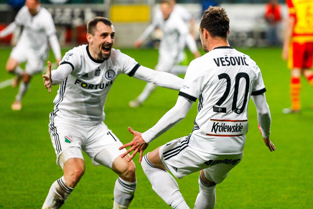 Legia Warszawa 3-0 Jagiellonia Białystok - fot. Piotr Galas (zdjęcie 39 z 87)