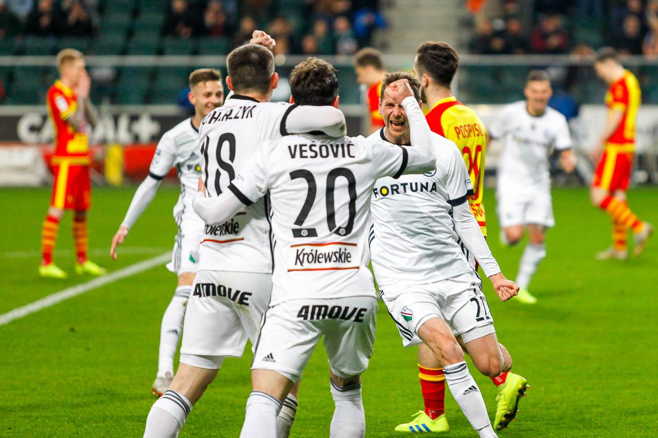 Legia Warszawa 3-0 Jagiellonia Białystok - fot. Piotr Galas (zdjęcie 40 z 87)