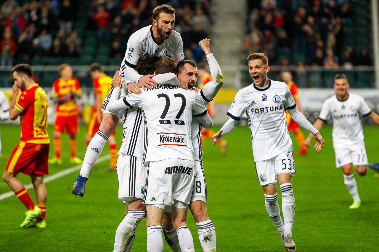 Legia Warszawa 3-0 Jagiellonia Białystok - fot. Piotr Galas (zdjęcie 41 z 87)
