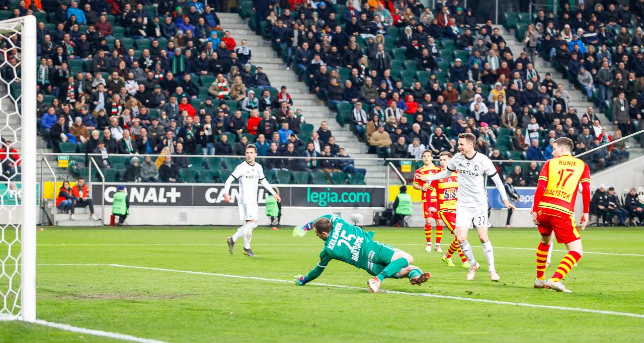 Legia Warszawa 3-0 Jagiellonia Białystok - fot. Piotr Galas (zdjęcie 58 z 87)