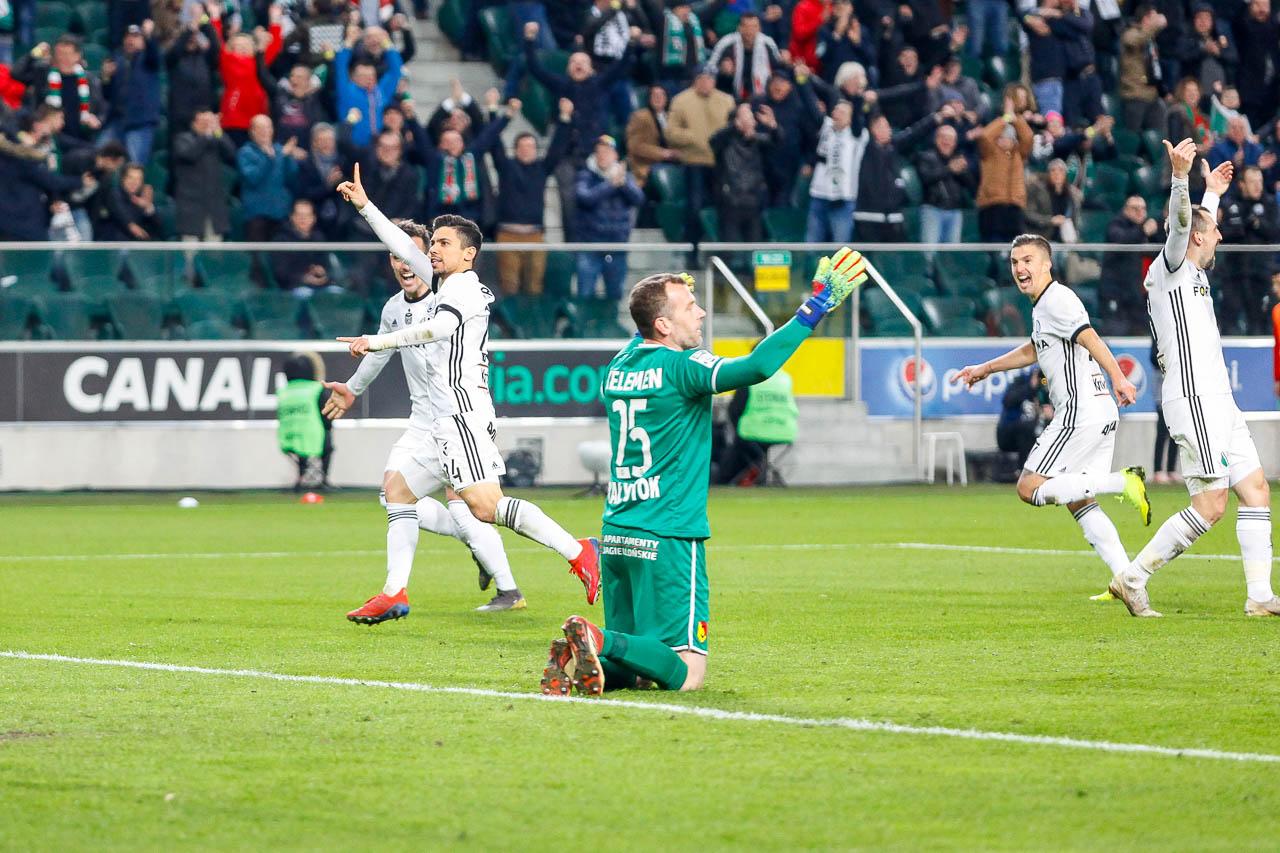 Legia Warszawa 3-0 Jagiellonia Białystok - fot. Piotr Galas (zdjęcie 59 z 87)