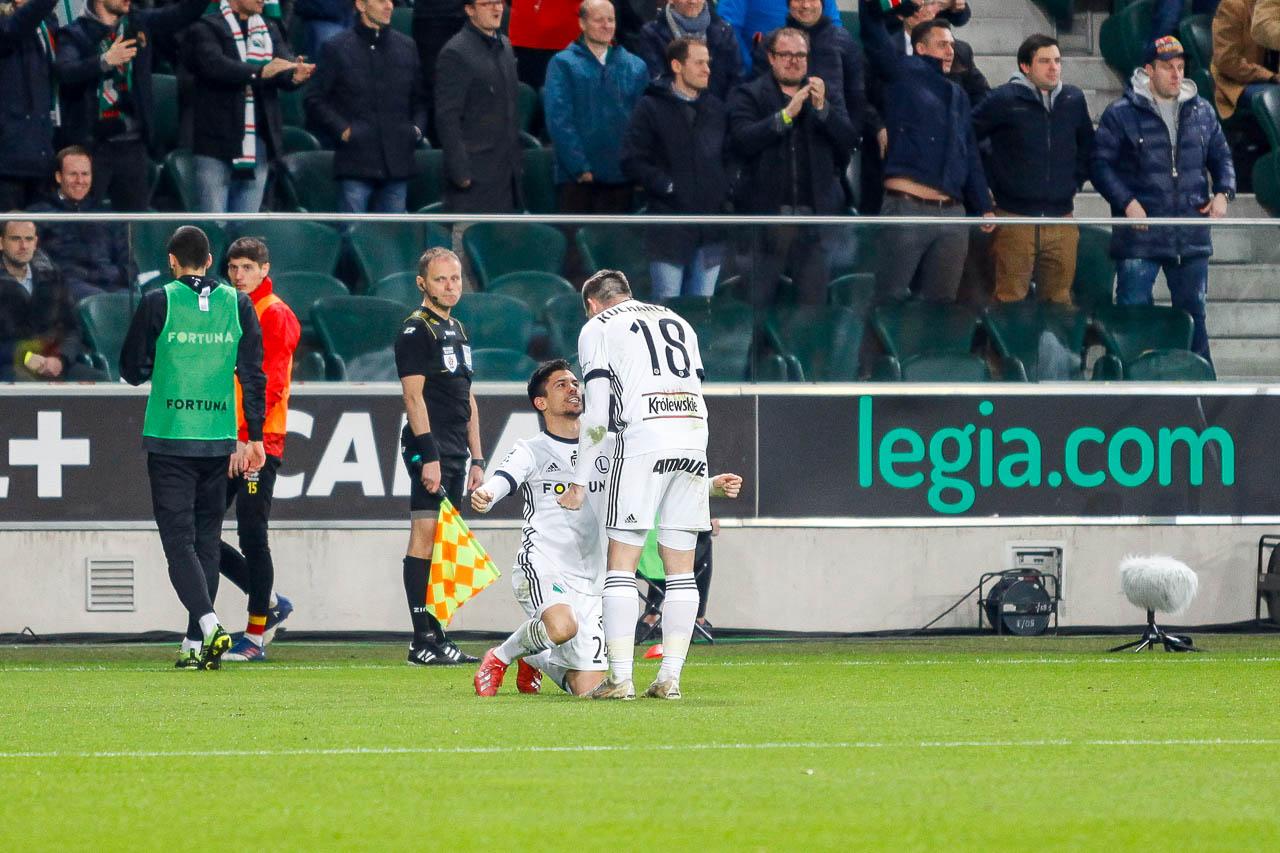 Legia Warszawa 3-0 Jagiellonia Białystok - fot. Piotr Galas (zdjęcie 60 z 87)