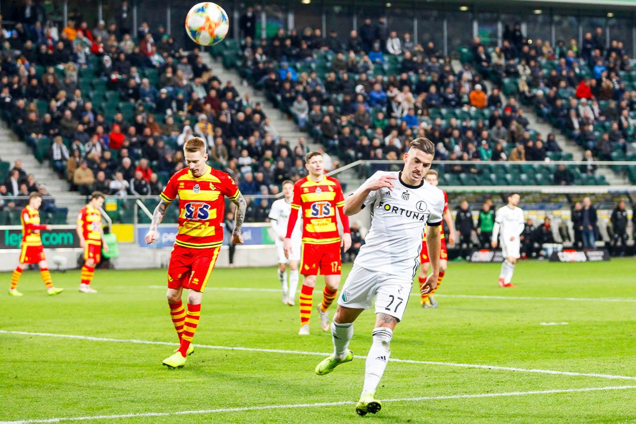 Legia Warszawa 3-0 Jagiellonia Białystok - fot. Piotr Galas (zdjęcie 61 z 87)