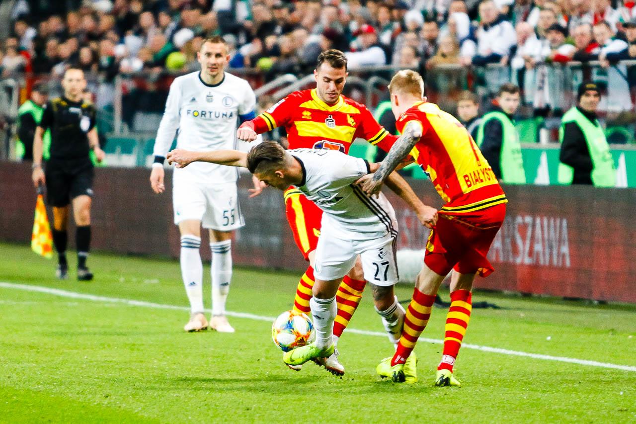 Legia Warszawa 3-0 Jagiellonia Białystok - fot. Piotr Galas (zdjęcie 65 z 87)