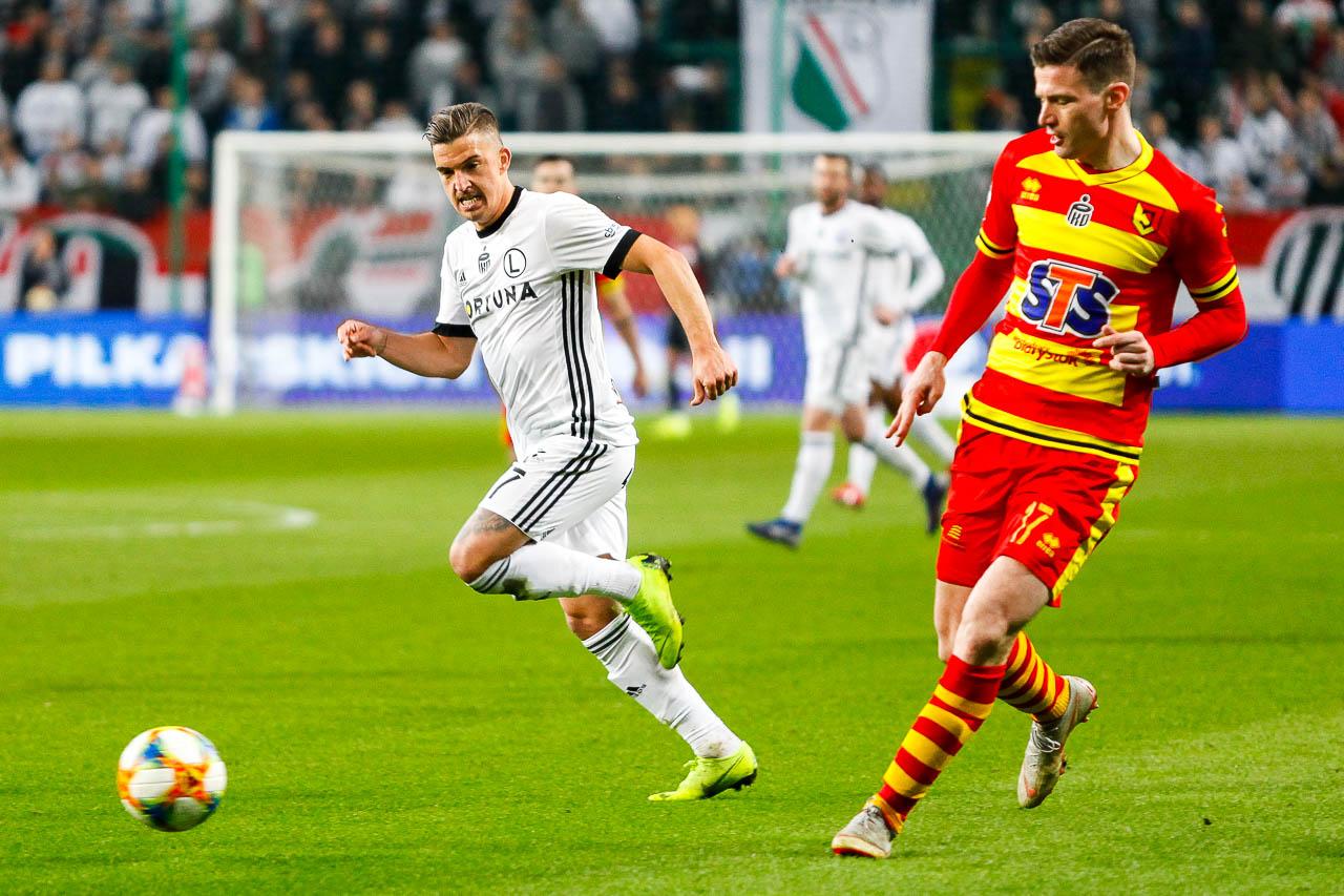 Legia Warszawa 3-0 Jagiellonia Białystok - fot. Piotr Galas (zdjęcie 66 z 87)