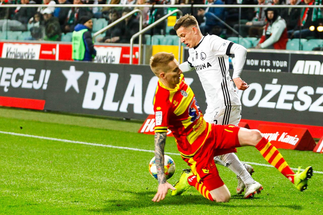 Legia Warszawa 3-0 Jagiellonia Białystok - fot. Piotr Galas (zdjęcie 67 z 87)