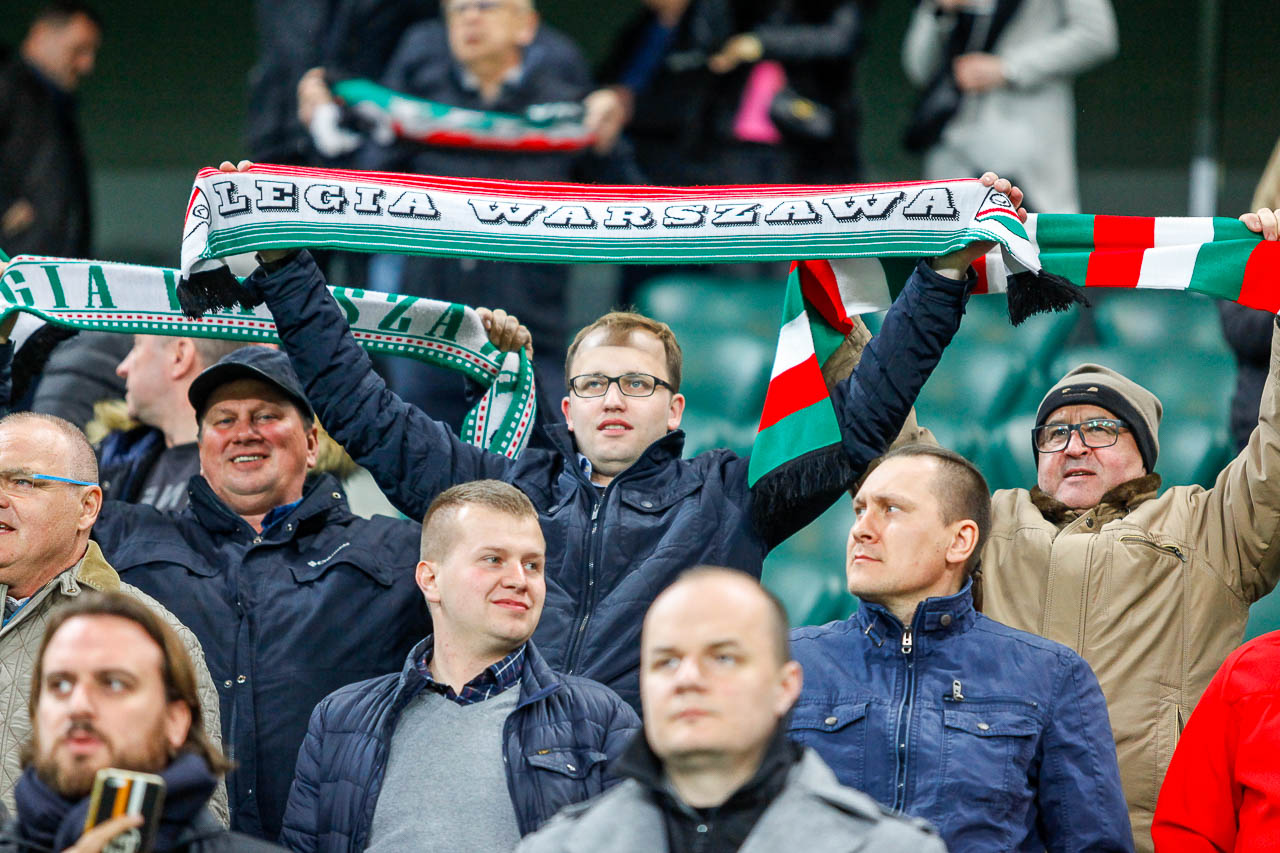 Legia Warszawa 3-0 Jagiellonia Białystok - fot. Piotr Galas (zdjęcie 7 z 87)
