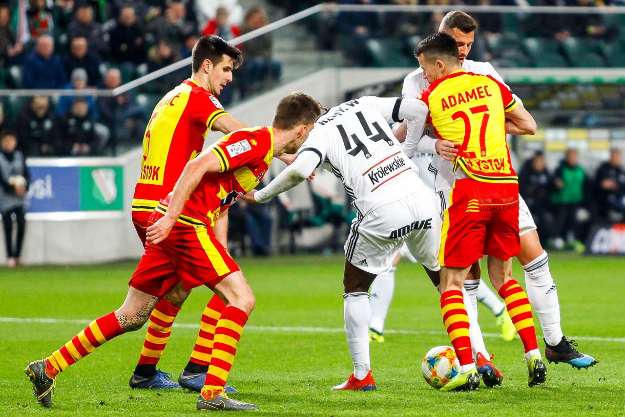 Legia Warszawa 3-0 Jagiellonia Białystok - fot. Piotr Galas (zdjęcie 71 z 87)