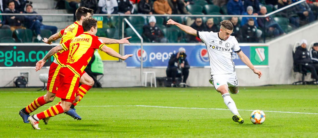 Legia Warszawa 3-0 Jagiellonia Białystok - fot. Piotr Galas (zdjęcie 72 z 87)
