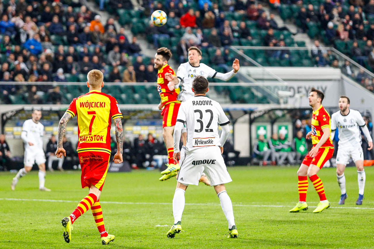 Legia Warszawa 3-0 Jagiellonia Białystok - fot. Piotr Galas (zdjęcie 75 z 87)