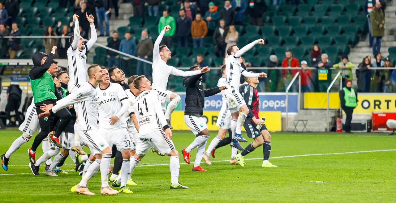 Legia Warszawa 3-0 Jagiellonia Białystok - fot. Piotr Galas (zdjęcie 83 z 87)