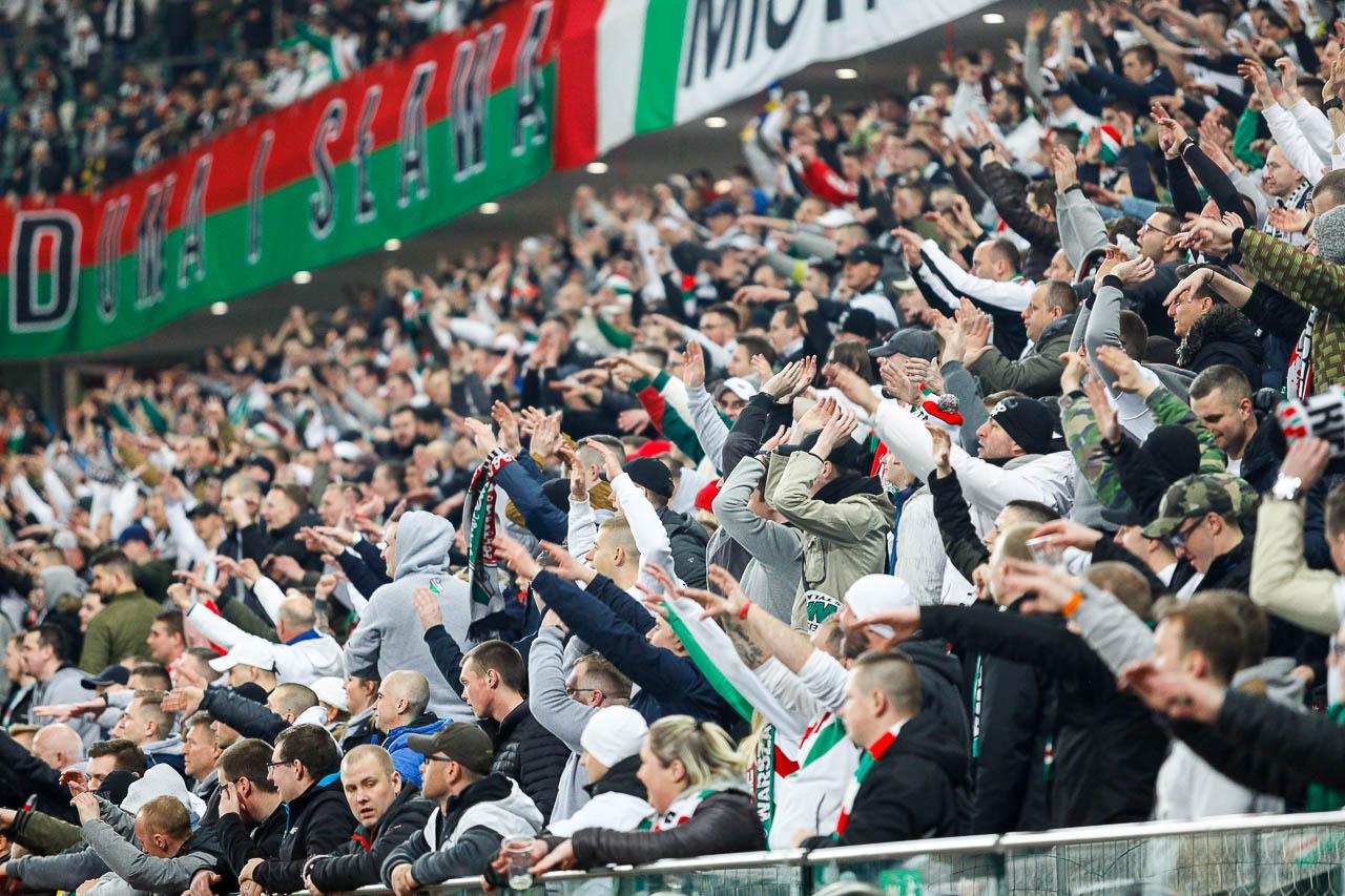 Legia Warszawa 3-0 Jagiellonia Białystok - fot. Piotr Galas (zdjęcie 85 z 87)
