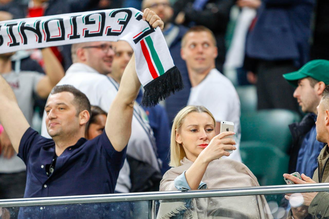 Legia Warszawa 0-1 Piast Gliwice - fot. Piotr Galas (zdjęcie 12 z 72)