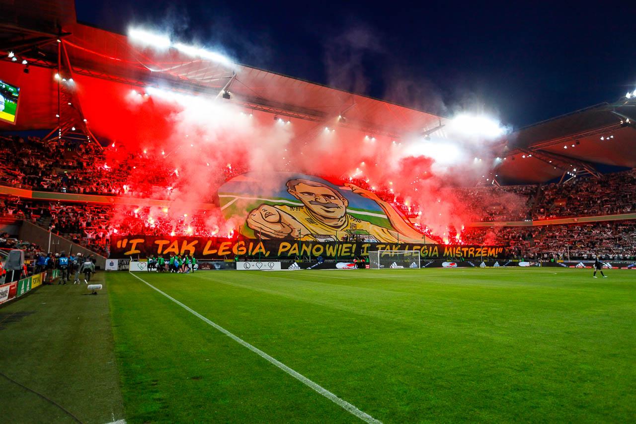 Legia Warszawa 0-1 Piast Gliwice - fot. Piotr Galas (zdjęcie 16 z 72)
