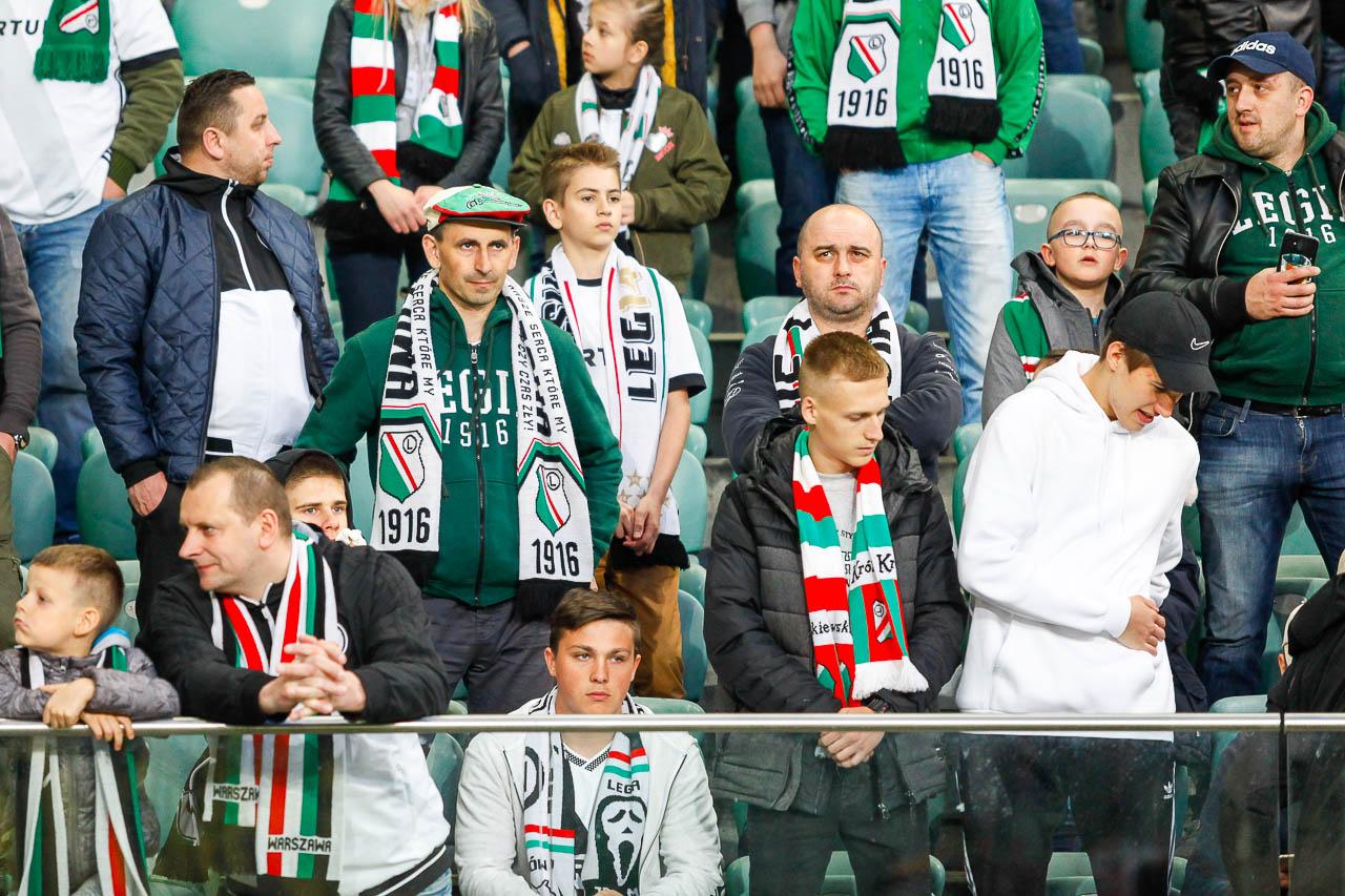 Legia Warszawa 0-1 Piast Gliwice - fot. Piotr Galas (zdjęcie 2 z 72)