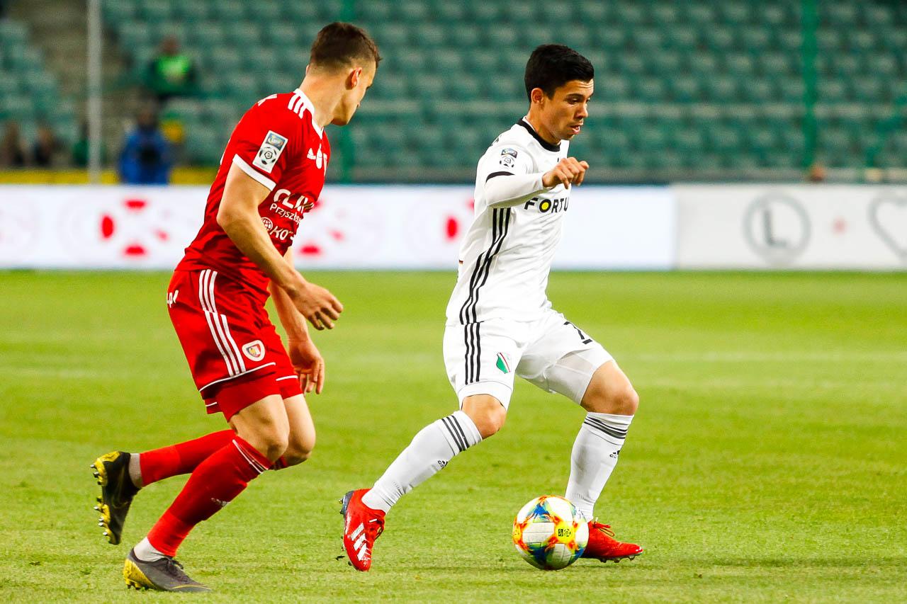Legia Warszawa 0-1 Piast Gliwice - fot. Piotr Galas (zdjęcie 24 z 72)