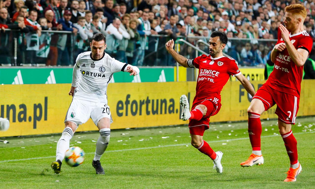Legia Warszawa 0-1 Piast Gliwice - fot. Piotr Galas (zdjęcie 25 z 72)