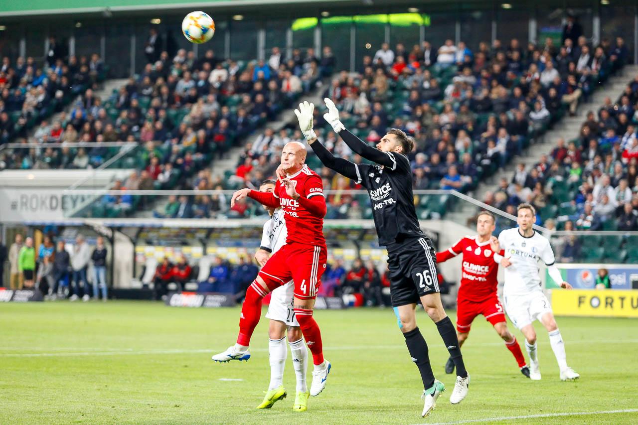 Legia Warszawa 0-1 Piast Gliwice - fot. Piotr Galas (zdjęcie 26 z 72)