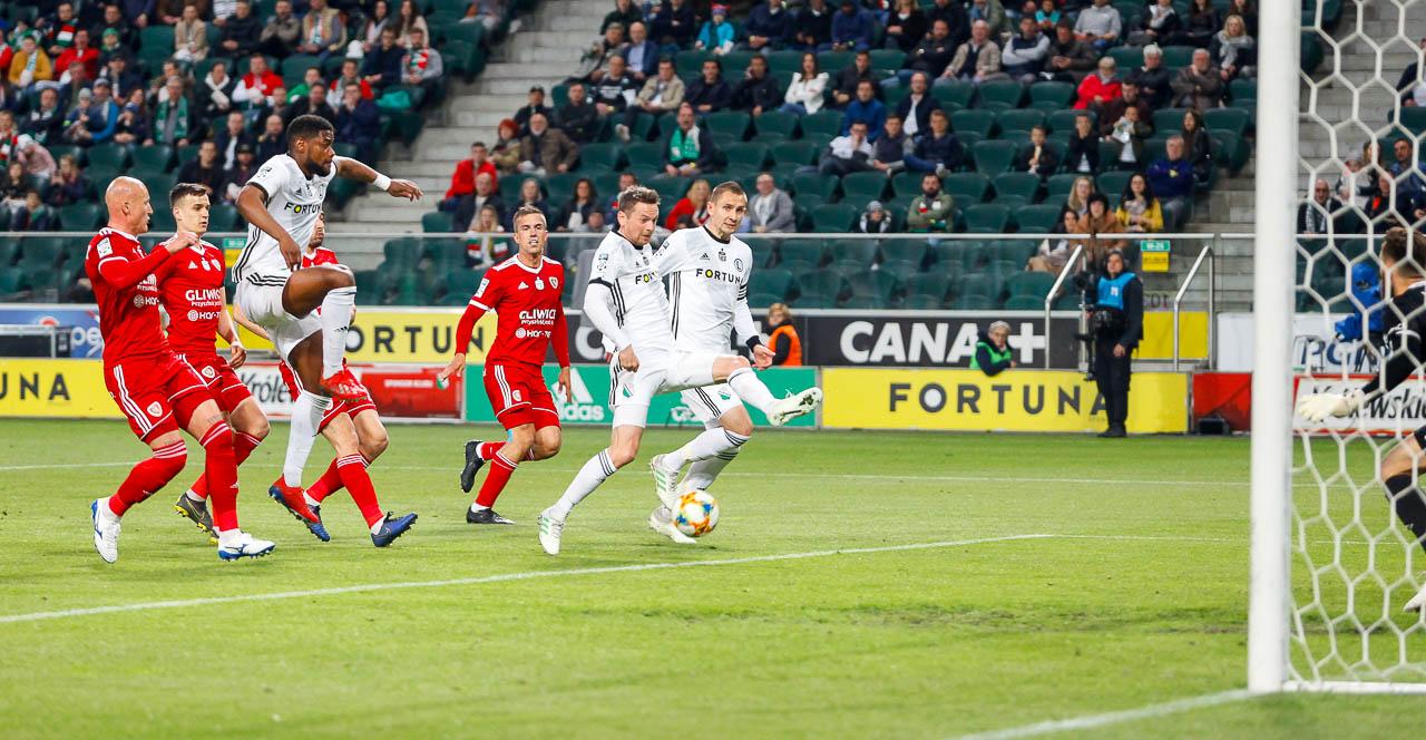 Legia Warszawa 0-1 Piast Gliwice - fot. Piotr Galas (zdjęcie 28 z 72)