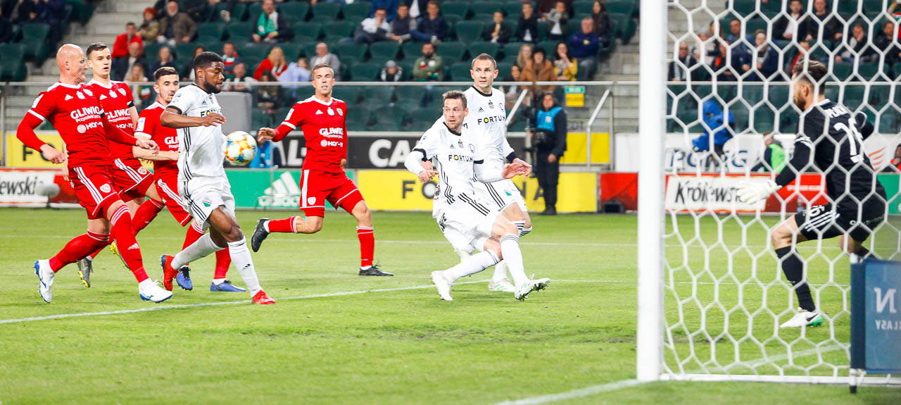 Legia Warszawa 0-1 Piast Gliwice - fot. Piotr Galas (zdjęcie 29 z 72)