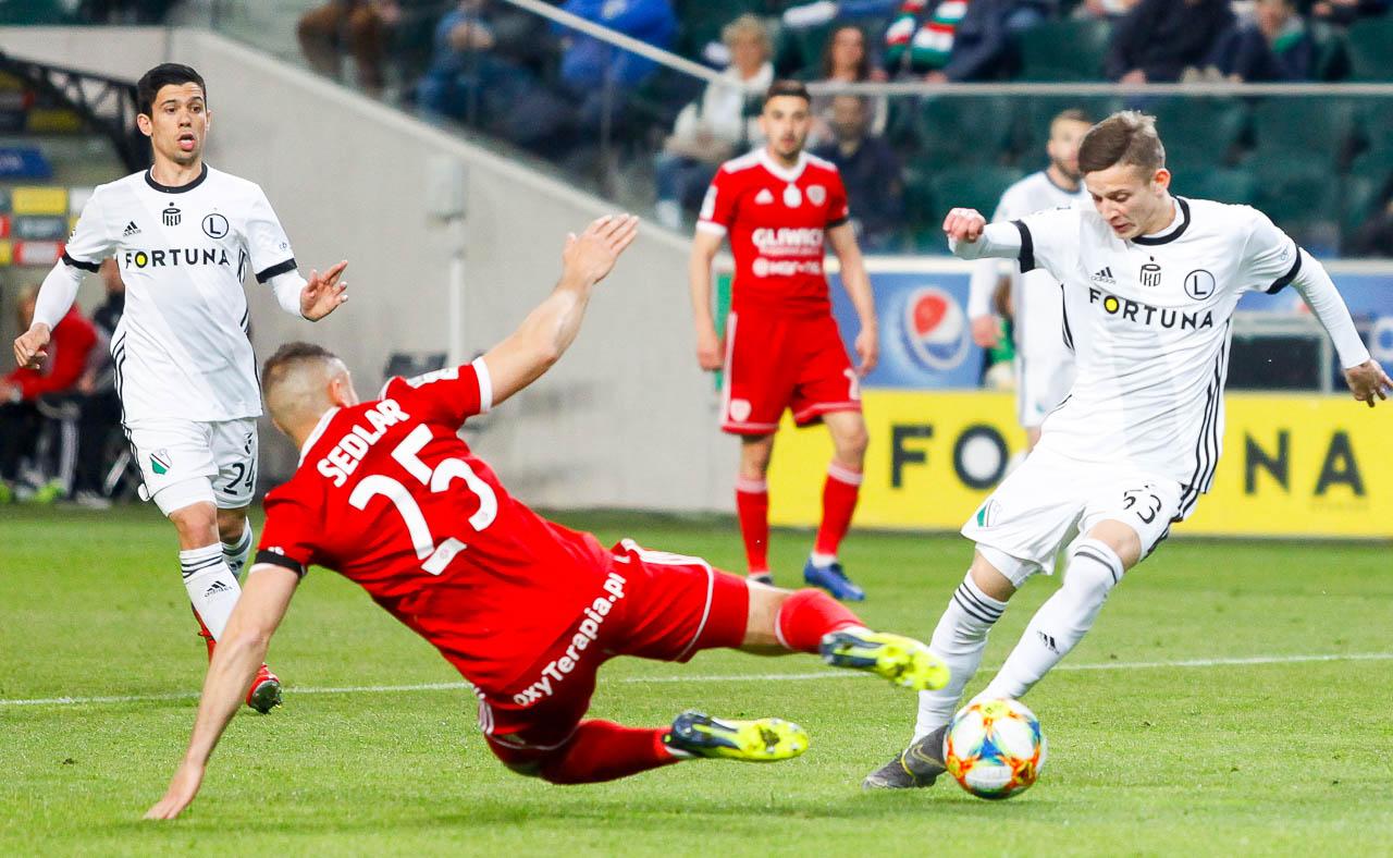 Legia Warszawa 0-1 Piast Gliwice - fot. Piotr Galas (zdjęcie 30 z 72)