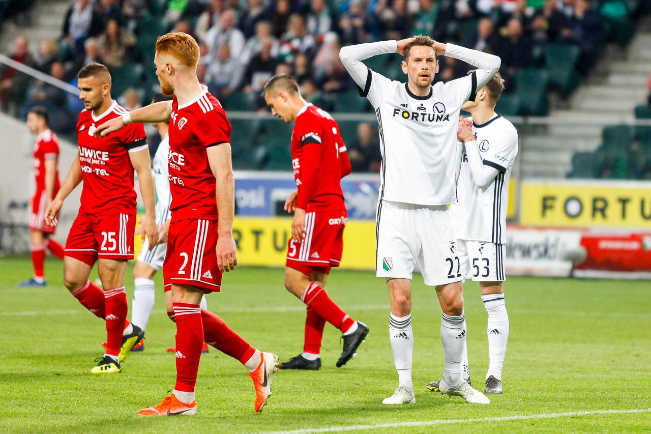 Legia Warszawa 0-1 Piast Gliwice - fot. Piotr Galas (zdjęcie 31 z 72)