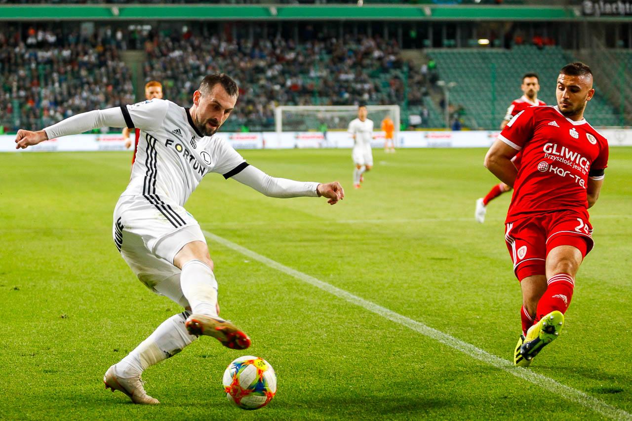 Legia Warszawa 0-1 Piast Gliwice - fot. Piotr Galas (zdjęcie 32 z 72)