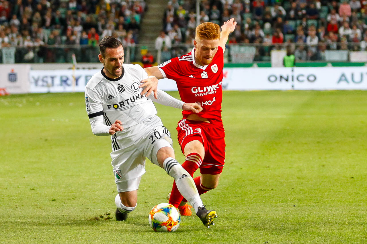 Legia Warszawa 0-1 Piast Gliwice - fot. Piotr Galas (zdjęcie 33 z 72)