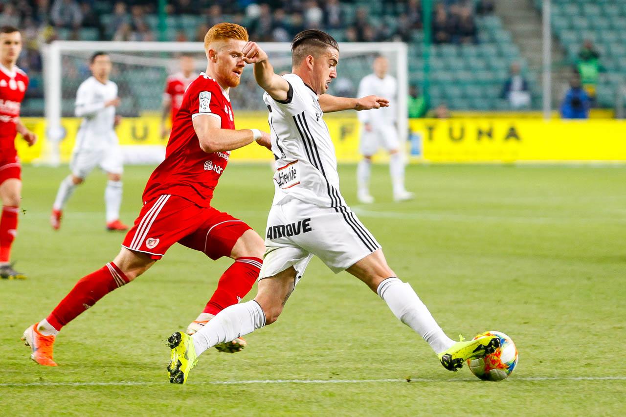 Legia Warszawa 0-1 Piast Gliwice - fot. Piotr Galas (zdjęcie 34 z 72)