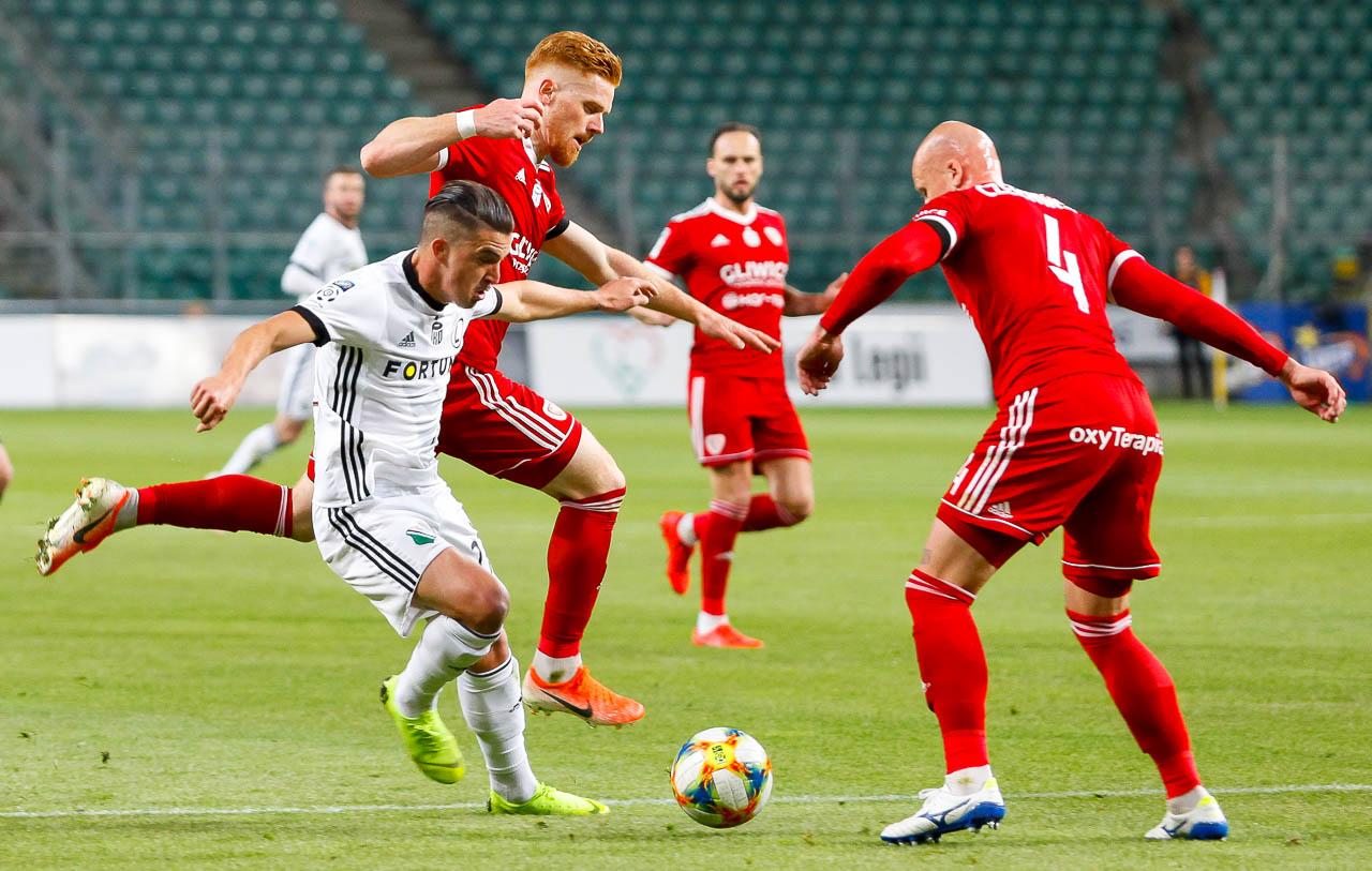 Legia Warszawa 0-1 Piast Gliwice - fot. Piotr Galas (zdjęcie 35 z 72)