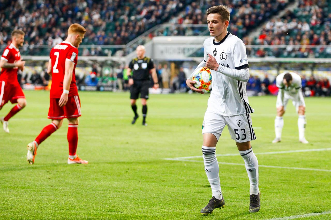 Legia Warszawa 0-1 Piast Gliwice - fot. Piotr Galas (zdjęcie 37 z 72)