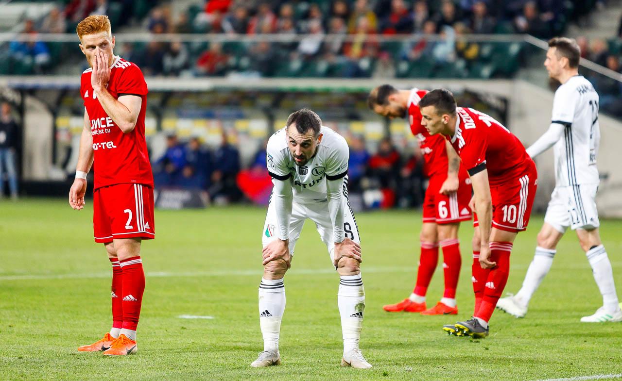 Legia Warszawa 0-1 Piast Gliwice - fot. Piotr Galas (zdjęcie 38 z 72)