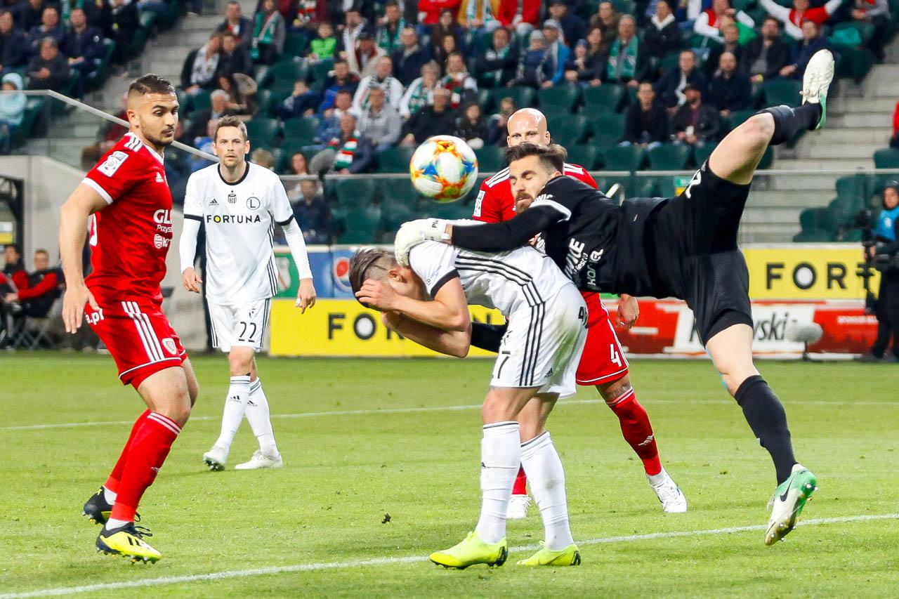 Legia Warszawa 0-1 Piast Gliwice - fot. Piotr Galas (zdjęcie 44 z 72)