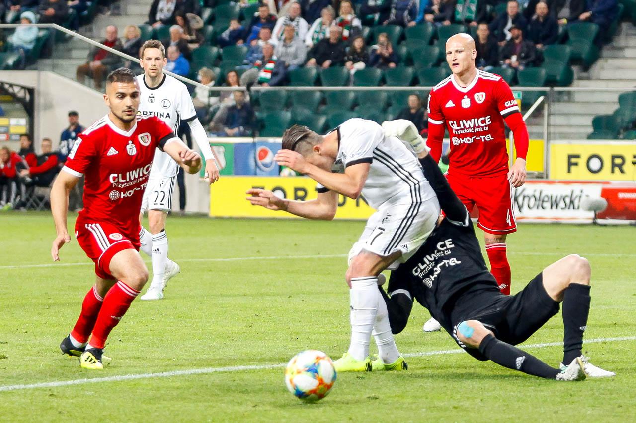 Legia Warszawa 0-1 Piast Gliwice - fot. Piotr Galas (zdjęcie 45 z 72)