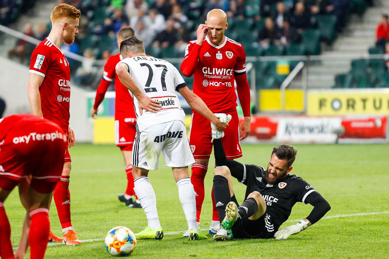 Legia Warszawa 0-1 Piast Gliwice - fot. Piotr Galas (zdjęcie 46 z 72)